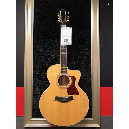 used taylor 655ce 12 string acoustic guitar maplespruce guitar center. Black Bedroom Furniture Sets. Home Design Ideas