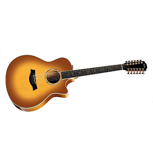Taylor 656ce Maple Grand Symphony 12-String Acoustic-Electric Guitar