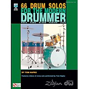 Cherry Lane 66 Drum Solos For The Modern Drummer (Book/DVD)