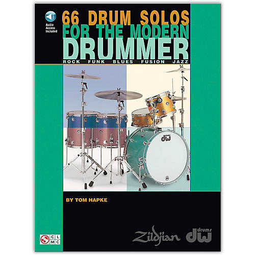 Hal Leonard 66 Drum Solos for the Modern Drummer Book/CD-thumbnail