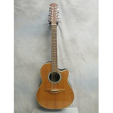Ovation 6751 Balladeer 12 String Acoustic Electric Guitar
