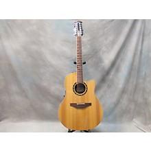 Ovation 6751LX Standard Balladeer 12 String Acoustic Electric Guitar