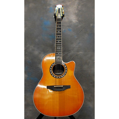 Ovation 6756 LX 12 String Acoustic Electric Guitar-thumbnail