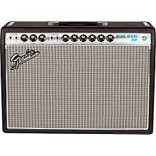 Fender '68 Custom Deluxe Reverb 22W 1x12 Tube Guitar Combo Amp with Celestion G12V-70 Speaker Level 1 Black