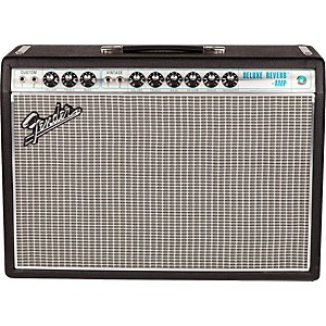Fender '68 Custom Deluxe Reverb 22W 1x12 Tube Guitar Combo Amp with Celesti...