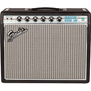 Fender '68 Custom Princeton Reverb 12W 1x10 Tube Guitar Combo Amp with Cele...