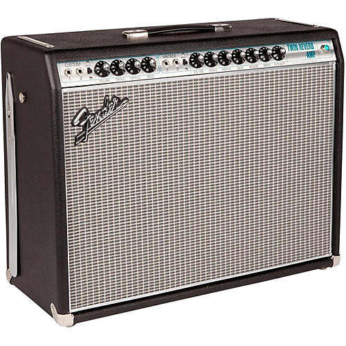 Fender '68 Custom Twin Reverb 85W 2x12 Tube Guitar Combo Amp with Celestion G12V-70s Speaker