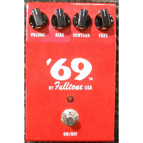 Fulltone 69 FUZZ RED Effect Pedal-thumbnail