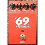Fulltone 69 FUZZ RED Effect Pedal