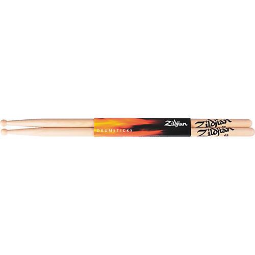 Zildjian 6A Natural Hickory Drumsticks