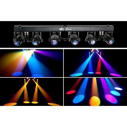 Chauvet 6SPOT LED Color-Changer Lighting System