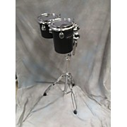 Ddrum 6X10 Decabon Pair W/ Stand Drum