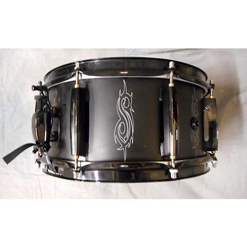 Pearl 6X13 Joey Jordison Signature Snare Black Drum
