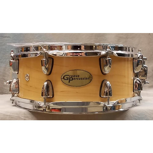 used groove percussion 6x13 snare drum guitar center. Black Bedroom Furniture Sets. Home Design Ideas