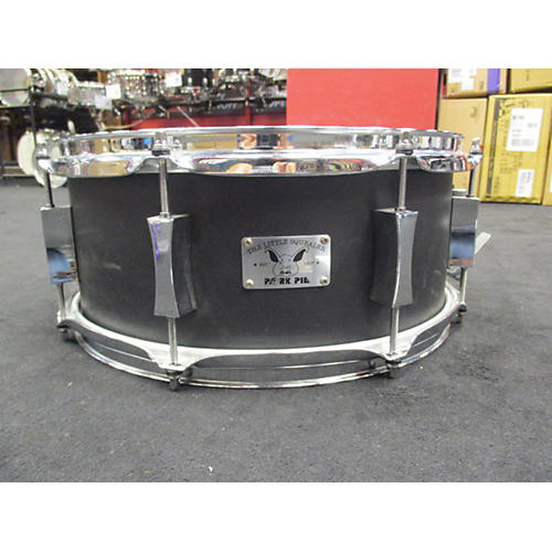 Pork Pie USA 6X14 6X14 Black Snare Drum Flat Black 13