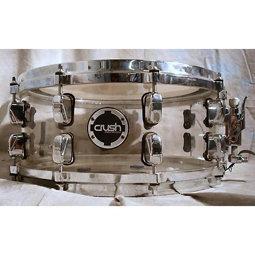 CRUSH 6X14 Acrylic Clear Drum