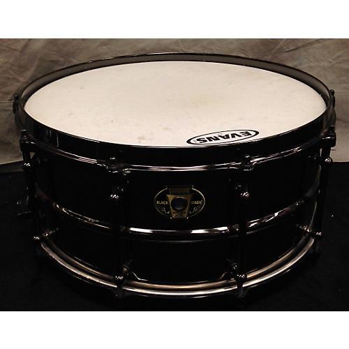 Ludwig 6X14 Black Magic Snare Drum-thumbnail