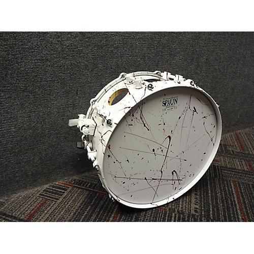 Spaun 6X14 Blood Spatter Maple Snare Drum