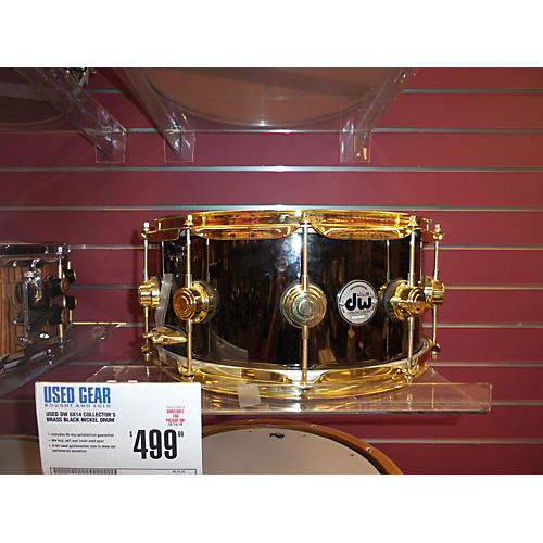 DW 6X14 Collector's Brass Drum-thumbnail