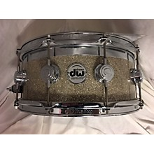 DW 6X14 Collector's Series Exotic Top Edge Snare Drum