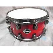 Ddrum 6X14 Dominion Ash Shell Snare Drum