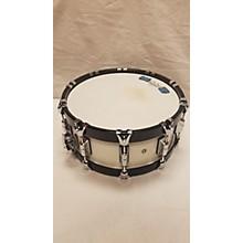 Taye Drums 6X14 Hoodhoops Birch 6x14 White Drum