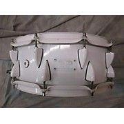 OCP 6X14 Maple WHITE/pOWDER COATED Drum
