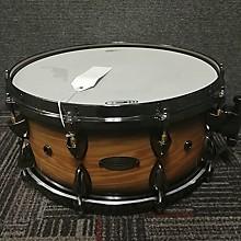 Orange County Drum & Percussion 6X14 Natural Blackburst Ash Drum