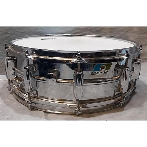 Ludwig 6X14 Steel Beginner Snare Kit Drum-thumbnail