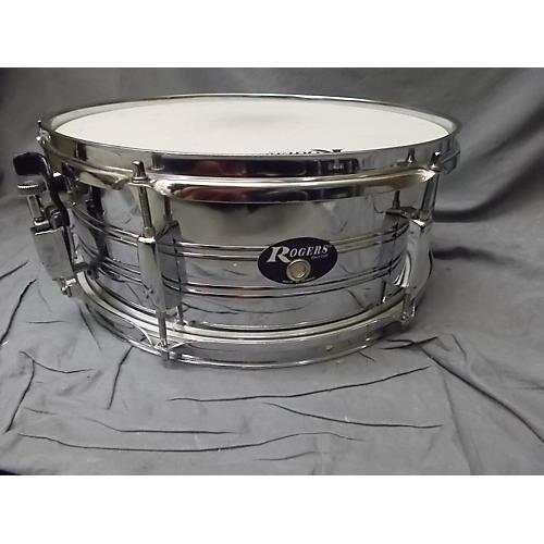 Rogers 6X14 Steel Drum Chrome 13