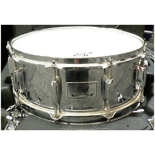 Pearl 6X14 Steel Shell Drum