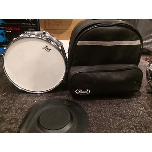 Pearl 6X14 Steel Snare Drum-thumbnail
