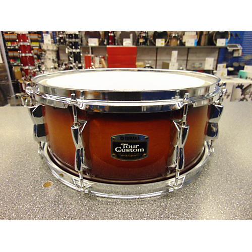 used yamaha 6x14 tour custom snare drum guitar center. Black Bedroom Furniture Sets. Home Design Ideas