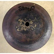 Stagg 6in Black Metal Bell Cymbal