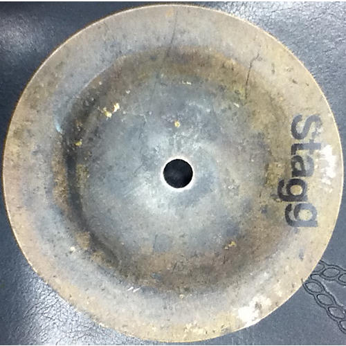 Stagg 6in Black Metal Brilliant Cymbal