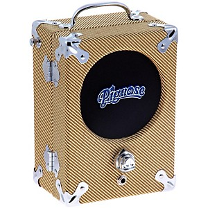 Pignose 7-100TW 5 Watt 1x5 Tweed Portable Guitar Combo Amplifier by Pignose