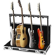 7 Guitar Stand Flightcase Black