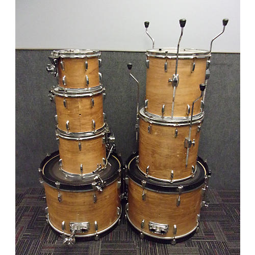Pearl 7 Piece Export Drum Kit-thumbnail