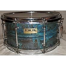 Pork Pie USA 7.5X14 Patina Brass Snare Drum Drum
