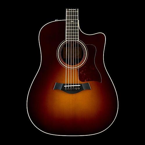 Taylor 700 Series 2014 710ce Dreadnought Acoustic-Electric Guitar Vintage Sunburst-thumbnail