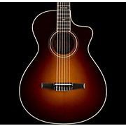 Taylor 700 Series 2014 712ce-N Grand Concert Acoustic-Electric Nylon String Guitar