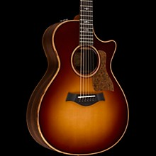 Taylor 700 Series 712ce Grand Concert Acoustic-Electric Guitar Western Sunburst