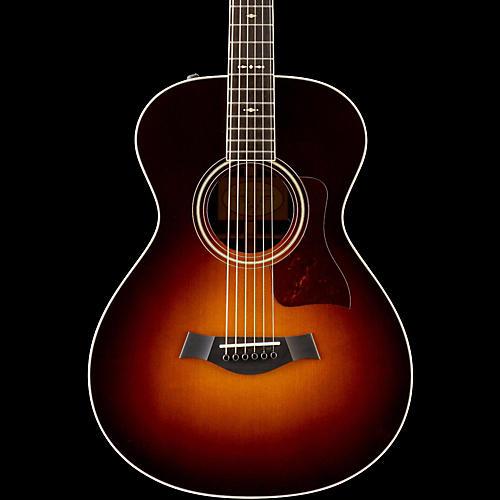 taylor 700 series 712e 12 fret grand concert acoustic electric guitar vintage sunburst. Black Bedroom Furniture Sets. Home Design Ideas