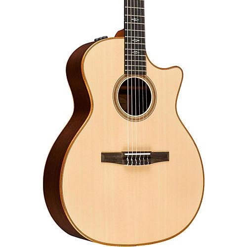 Taylor 700 Series 714ce-N Grand Auditorium Nylon String Acoustic-Electric Guitar-thumbnail