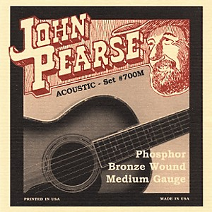John Pearse 700M Bronze Acoustic Guitar Strings by John Pearse