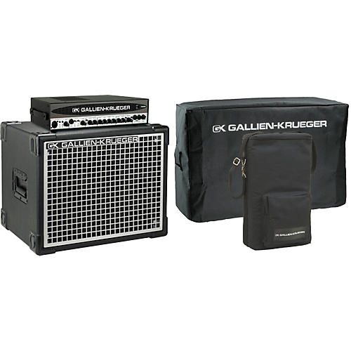 Gallien-Krueger 700RB-II Head/Neo 112 Cabinet Pack with Covers-thumbnail