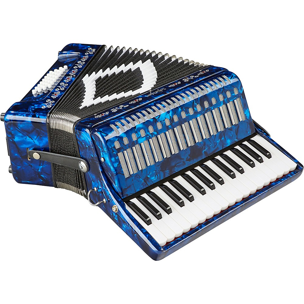 Sofiamari Sm-3232 32 Piano 32 Bass Accordion Dark Blue Pearl