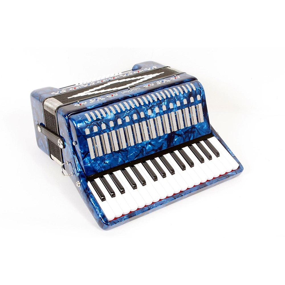 Sofiamari Sm-3232 32 Piano 32 Bass Accordion Dark Blue Pearl 888365459332