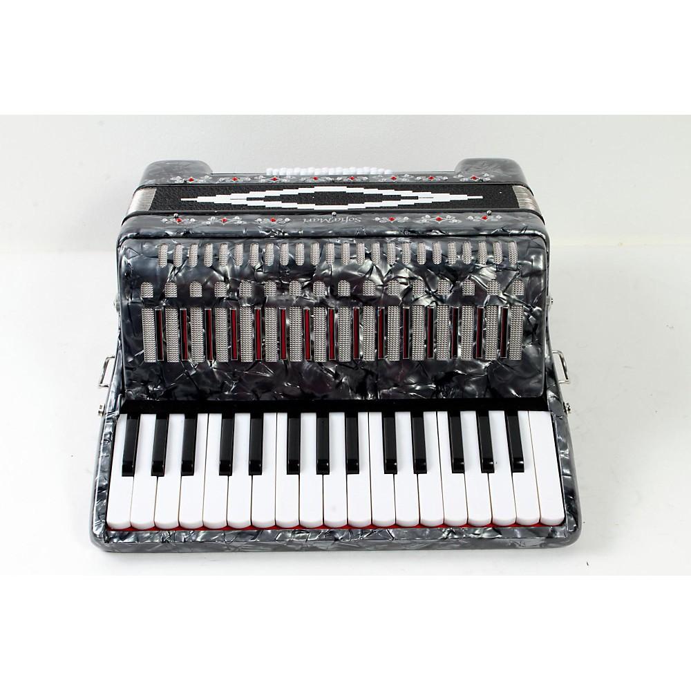 Sofiamari Sm-3232 32 Piano 32 Bass Accordion Gray Pearl 888365503615