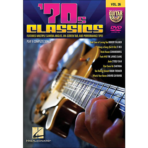 Hal Leonard 70s Classics - Guitar Play-Along DVD Volume 26-thumbnail